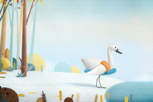 ikukids-cygne-poltron-animation-film-humour-drole