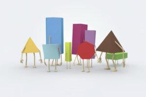 ikukids-distinguer-prisme-et-pyramide-geometrie-difference-formes-geometriques-couleurs-faces-sommets
