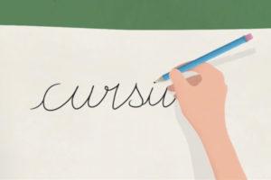 ikukids-ecriture-cursive-manuscrite-main-courante-explication-course