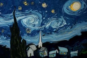 ikukids-nuit-etoilee-Van-Gogh-Garip-Ay-marbling-art-marbrubre