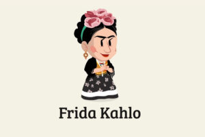 ikukids-frida-kahlo-peintre-magdalena-artiste-surrealisme-portrait-Mexique