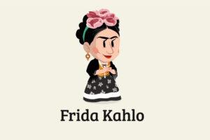 ikukids-frida-kahlo-peintre-magdalena-artiste-surrealisme-portrait-Mexique