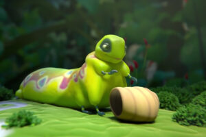ikukids-sweet-cocoon-insectes-chenille-cocon-nature-court-métrage-animation
